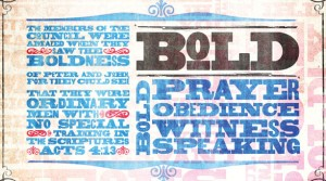 Bold Prayer: Obeying God &amp; Praying for One Another