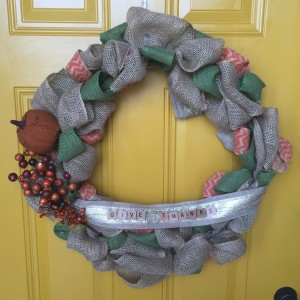 thanksgiving fall burlap wreaths