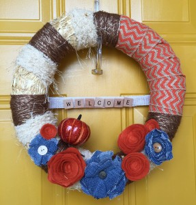 fall burlap wreaths