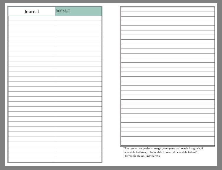 prayer journal printable - RunHoly.com