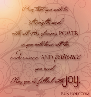 scripture prayer for patience RunHoly